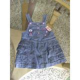 Vestido De Jean Para Niña Bebe De 18 Meses
