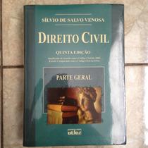 Livro Direito Civil Sílvio De Salvo Venosa 5ª Ed Parte Geral