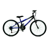 Bicicleta Aro 24 Ciclone Azul/preto Masculino - Master Bike