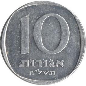 579 - Moeda Israel 10 Agorot 1980
