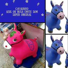 Cavalo Borracha Upa Upa Brinquedo Para Criaça