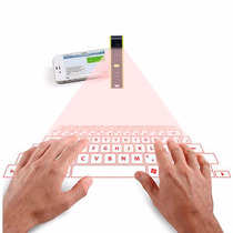 Teclado Laser Virtual Bluetooth Con Funcion De Trackpad