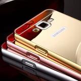 Carcasa Aluminio Espejo Para Samsung Galaxy J2 J5 J7 Prime