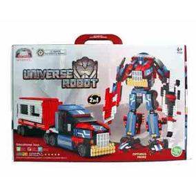Lego Transformers Optmus Prime Ultimate Autobots 2 Em 1