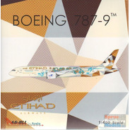 Miniatura Phoenix 1:400 Etihad Boeing 787-9  United Arab