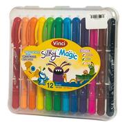 Silky Magic. 3 En 1: Pastel, Crayón Y Acuarela.