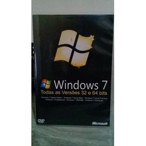 Cd Dvd Windows 7, Todas As Versões 32 E 64 Bits Ativ.