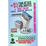 Volantes + Tarjetas De Calidad Imprenta Super Oferta