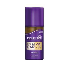 Wella Koleston Retoque Raíz 3 Spray Temporal, Rubio Medio, 1