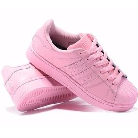 adidas todo rosa