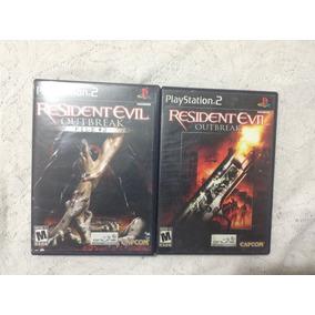 Ps2 Resident Evil Outbreak 1 Y 2