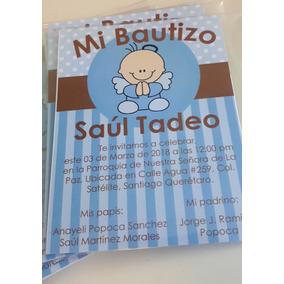 Invitaciones, Bautizo, Xv Años, Baby Shower, Cumpleaños