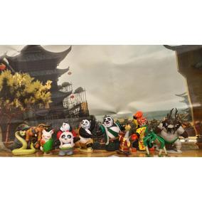 Kung Fu Panda Po Mestre Shifu Mestre Víbora Pai Panda Garça