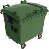 Contenedor Europeo Para Basura Color Verde 1100 Litros