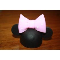 20 Minnie O Mickey Souvenir Porcelana Fria!!!