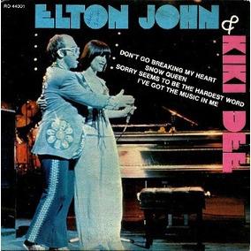 Compacto Duplo ( Vinil ) / Elton John & Kiki Dee = 4 Sucess