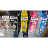 Tintas Epson 664 Original L L365 L355 L375 L475 Precio X Uni