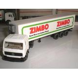 Wiking Caminhão Carreta Mercedes Zimbo Refrigerado 1:87 Ho