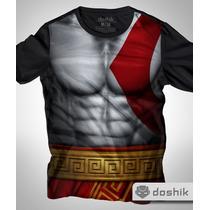 Playera Armadura Kratos God Of War Marca Doshik