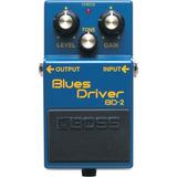 Pedal De Efecto Blues Driver Boss Bd-2 Confirmar Existencia