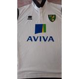 Camiseta Suplente Del Norwich De Inglaterra