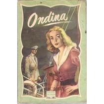 Livro Biblioteca Das Moças Ondina M. Delly Vol. 149
