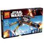 Lego Altern Star Wars, X Wing Fighter Nave Poe Halcon 75102