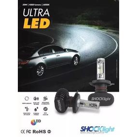 Kit Lampadas Ultra Led H1 H3 H4 H13 Shocklight