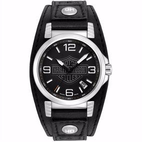 Relógio Bulova Masculino Harley Davidson - Wh30000t + Nfe