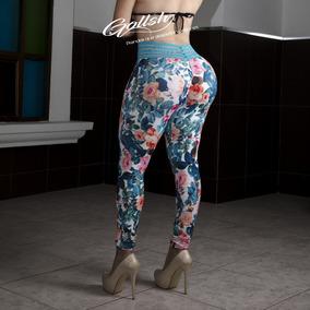 Leggins Corte Twerking Sexys Satinados En Licra Colombiana