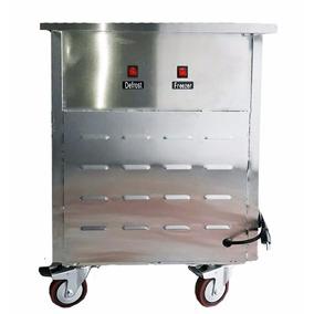 Maquina De Helado Frito Acero Inox Plancha Cuadrada