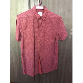 Camisa Manga Corta Roja Talla M
