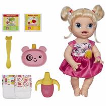 Boneca Baby Alive - Hora De Comer Loira Hasbro