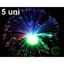 Luminaria Abajur De Fibra Optica 5 Uni 8 Fases Decoracao