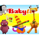 Kit Imprimible Modificable Baby Tv Full Fiesta 3x1
