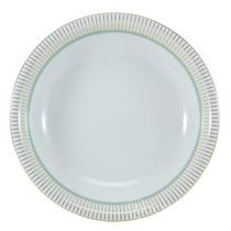 Saladeira Audrey Schmidt Porcelana Azul Ø25cm