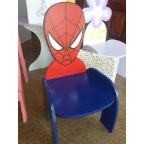 Silla Infantil - Spiderman -peppa Pig - Varios Diseños