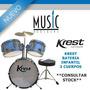 Krest Bateria Infantil 3 Cuerpos - Bm Music Boulogne -