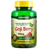 Goji Berry 500mg - Maxinutri - 60 Cápsulas