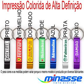 100 Chaveiros Abridor - Brindes Personalizado - Impres.color