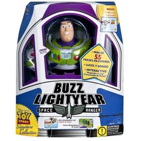 Figura Buzz Lightyear Toy Story Space Ranger Con Certificado