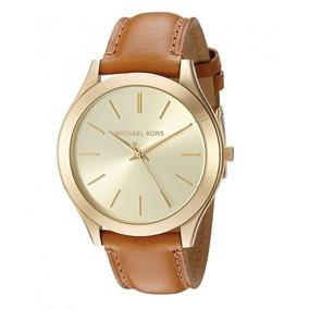 Relogio Michael Kors Runway Brown - Relógios De Pulso no Mercado ... 2ff62d53a1