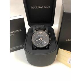15c24b9eda6 Empório Armani Ar4603 Automático Com Fundo Transparente! - Relógios ...