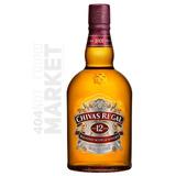 Chivas Regal . Whisky . 12 Años . C/estuche . 1000 Ml.