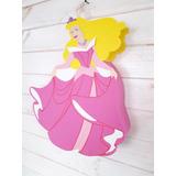 Piñata Princesa Aurora Artesanal En Goma Eva
