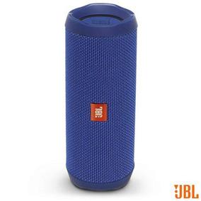 Caixa Som Bluetooth Jbl Potência 16w Ios Android Azul Flip4