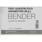 Test Guestaltico Visomotor Bender - Juego De 9 Tarjetas