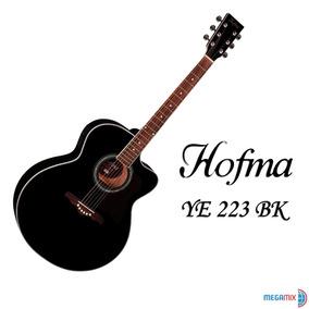 Violão Elétrico Acústico Hofma By Eagle Ye 223 Bk Preto