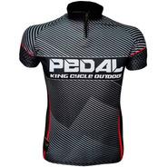 Camiseta De Ciclismo King Brasil 3 Bolsos - Pedal 06