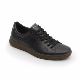 Tenis Zapato Flexi 47701 Blanco Negro Casual